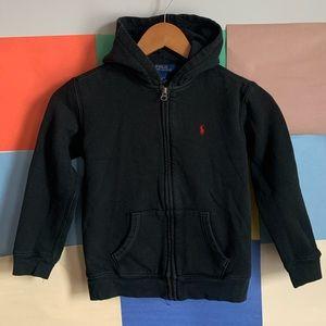 Polo aralph Lauren Full Zip Hoodie Size 7